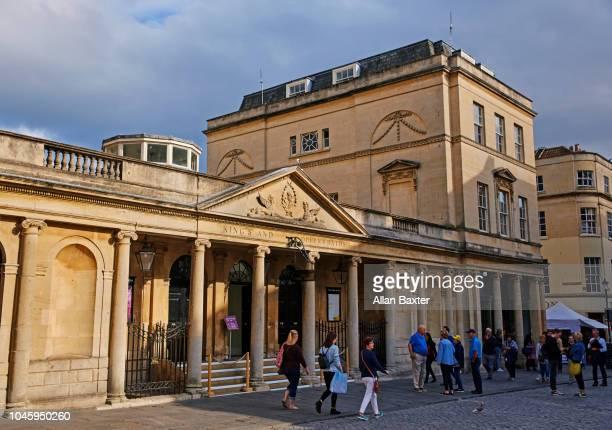 The Roman 'Kings and Queens' Bath in Bath Spa