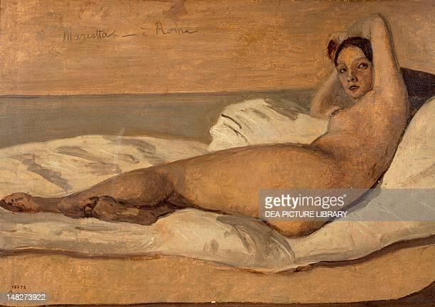 The Roman Odalisque by JeanBaptiste Camille Corot Paris Petit Palais Musée Des BeauxArts De La Ville De Paris