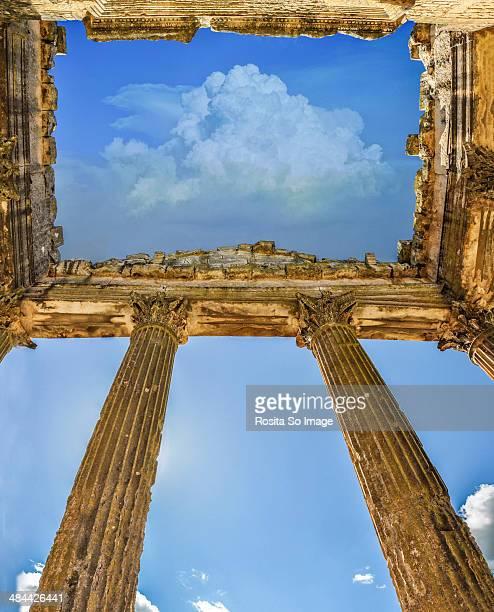 The Roman Ruins Of Dougga