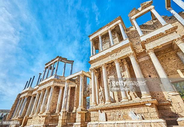 The Roman Theatre in Merida
