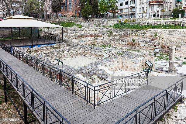 The Roman Thermae, a complex of Ancient Roman baths (thermae) in Varna, Bulgaria