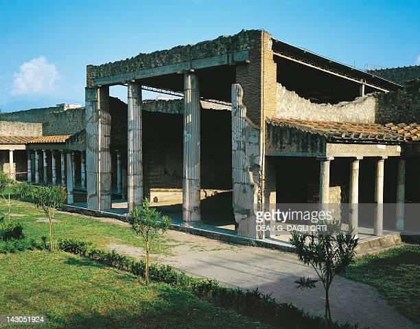 The Roman Villa Poppaea in Oplonti an archaeological area of Torre Annunziata Campania Roman Civilisation 1st Century BC