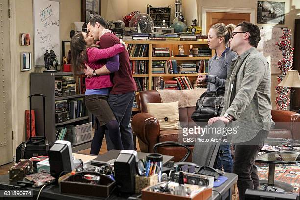 The Romance Recalibration Pictured Amy Farrah Fowler Sheldon Cooper Penny and Leonard Hofstadter When Penny feels that Leonard is taking her for...