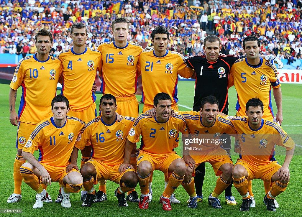 Romania v France - Group C Euro 2008 : News Photo