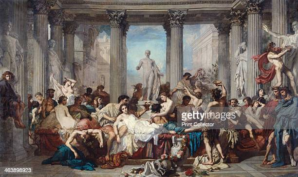 'The Romans of the Decadence' 1847 From the collection of the Fogg Art Museum Harvard University Art Museums Massachusetts USA