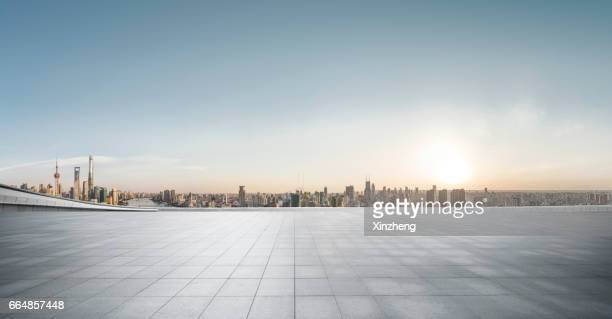 the roof car park - paving stone stock pictures, royalty-free photos & images