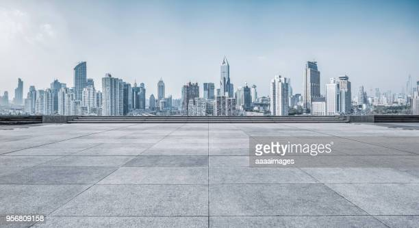 the roof car park - skyline stock pictures, royalty-free photos & images