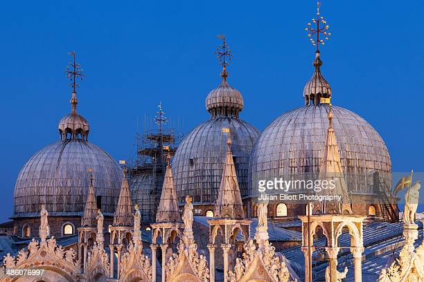 The roof of Basilica San Marco in Venice.