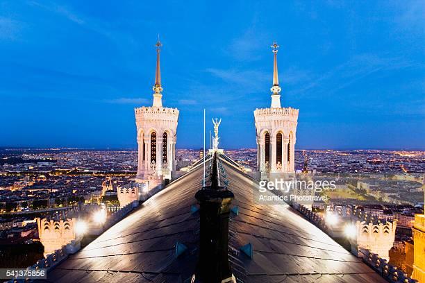 The Roof of Notre Dame de Fourviere