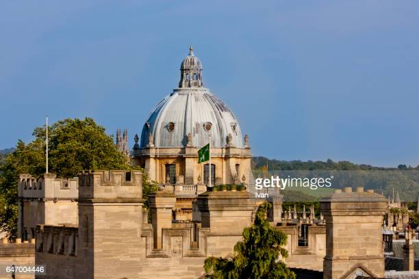 The Roof of Radcliffe Camera, Oxford, UK