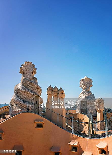 CONTENT] The roof terrace of Casa Milà commonly known as La Pedrera It is the largest civil building designed by Antoni Gaudí The apartment block was...