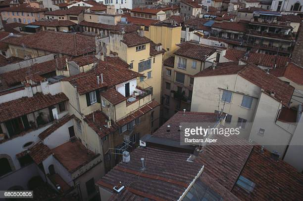 The rooftops of Florence, Italy, October 1999.