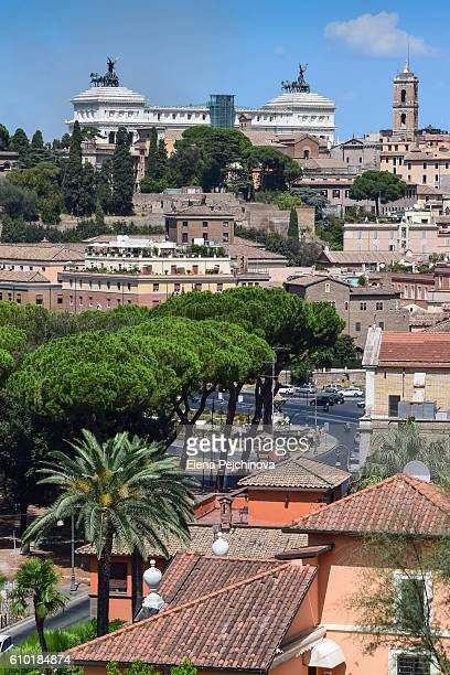 The rooftops of Rome