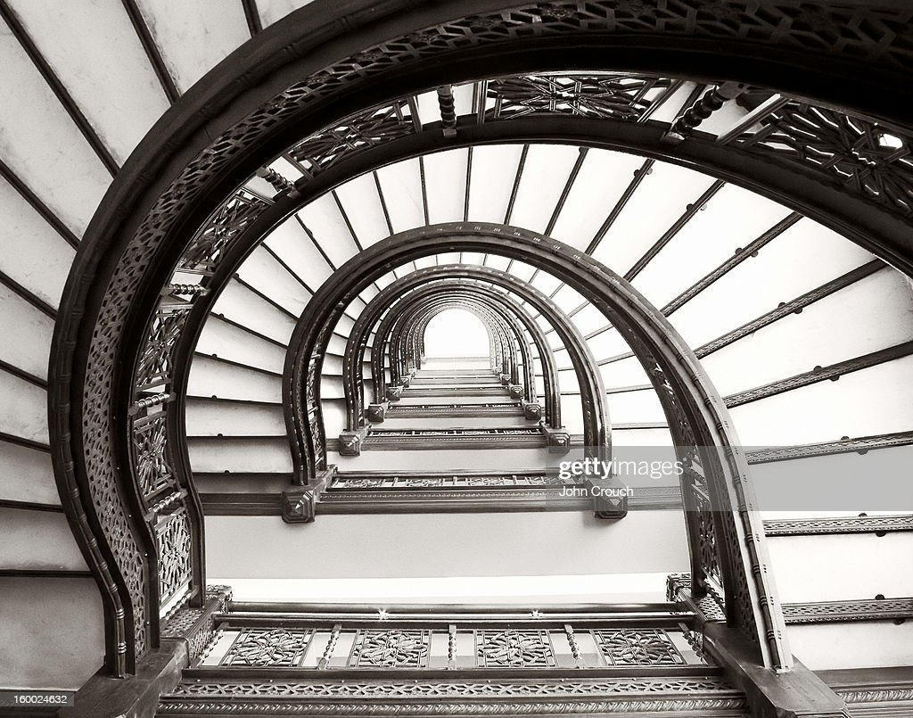 CONTENT] The Rookery Building In Chicago Features A Spiral Staircase And Is  Of Oriel Design