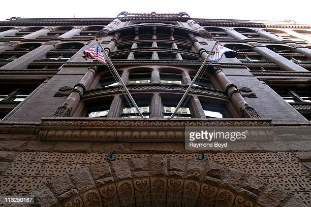 The Rookery Building in Chicago, Illinois on APR 17, 2011.