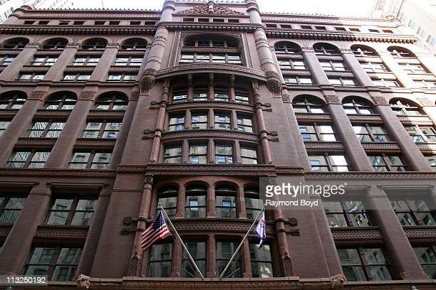 The Rookery Building in Chicago Illinois on APR 17 2011