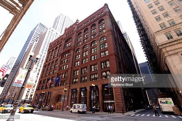 The Rookery Building in Chicago Illinois on JULY 19 2013