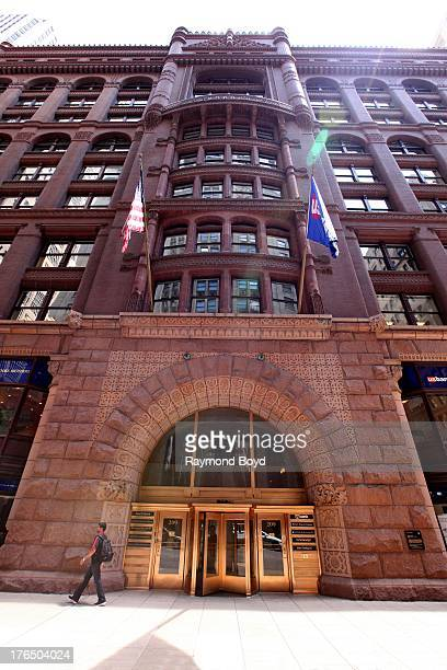 The Rookery Building, in Chicago, Illinois on JULY 19, 2013.
