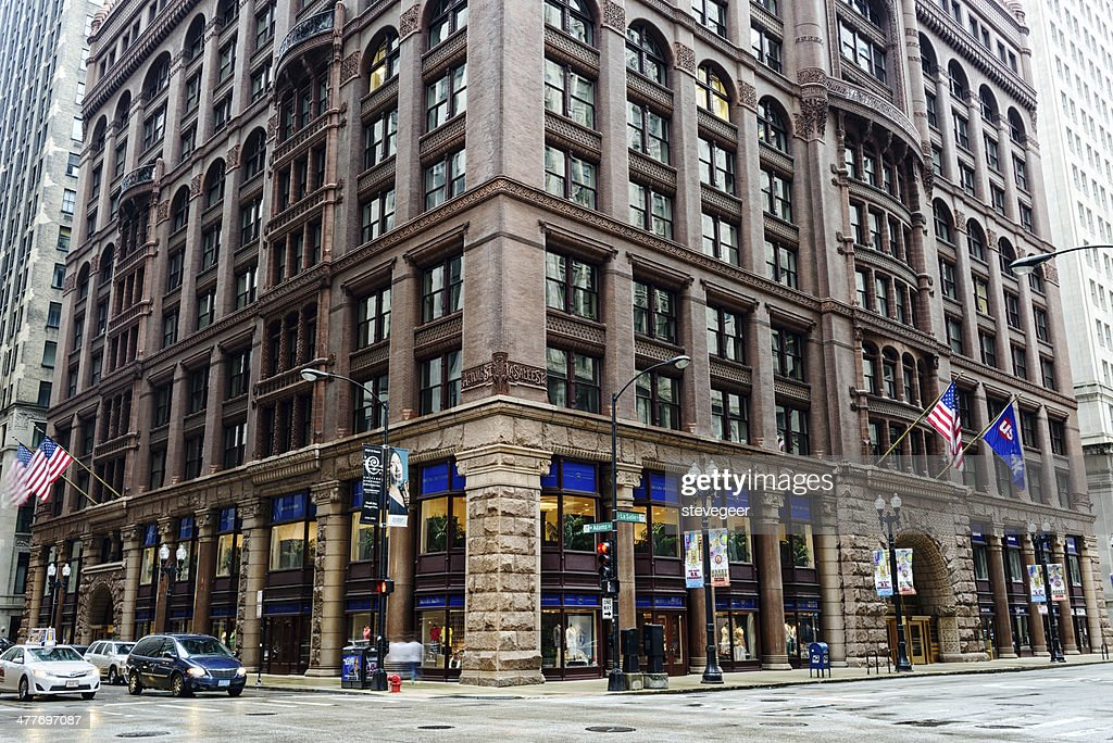 The Rookery, downtown Chicago : Stock Photo