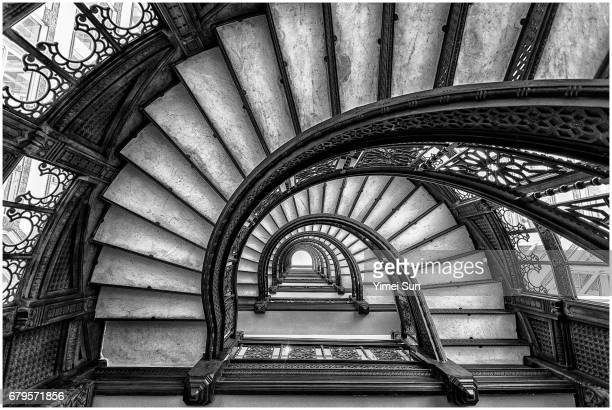 the rookery - rookery chicago stock pictures, royalty-free photos & images