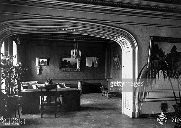 The room in a building in Yekaterinburg where Czar Nicholas II spent his last days in captivity before being assassinated on July 16 1918 At the time...