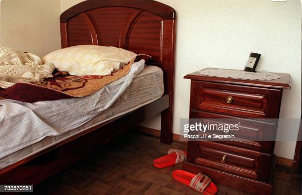 The room in the apartment occupied by Sid Ahmed Rezala in Baixa Da Banheira