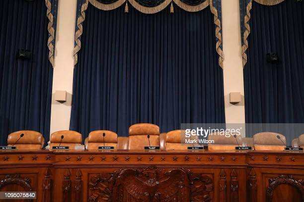 The room is set for the House Ways and Means Oversight Subcommittee hearing that will focus on Legislative Proposals and Tax Law Related to...