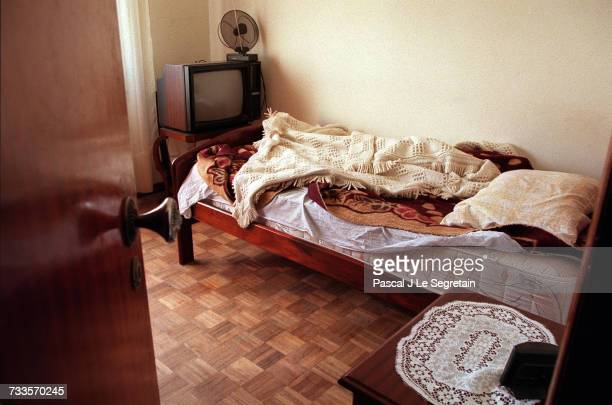 The room occupied by Sid Ahmed Rezala since 27/12/ 99 in an apartment at 87 rue Augusto Gil