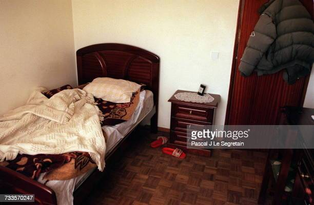 The room where Sid Ahmed Rezala has been staying since 27 December 1999