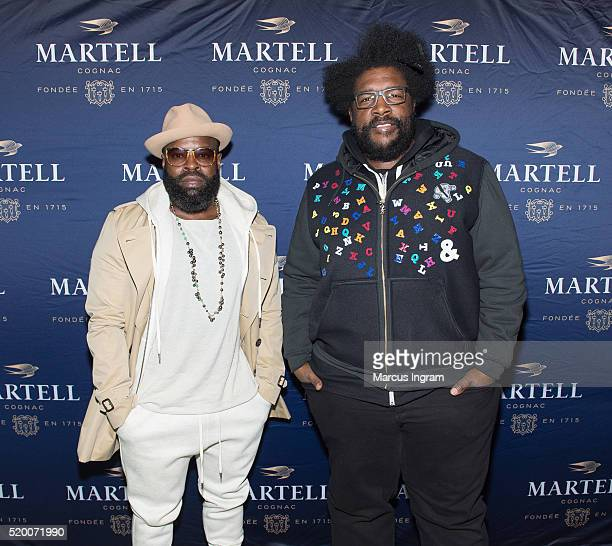 The Roots at the Martell Cognac Vanguard Experience concert at The Tabernacle on April 9 2016 in Atlanta Georgia