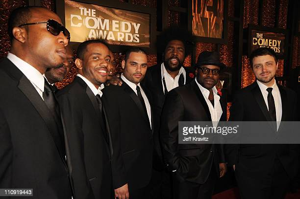 The Roots attend the First Annual Comedy Awards at Hammerstein Ballroom on March 26, 2011 in New York City.