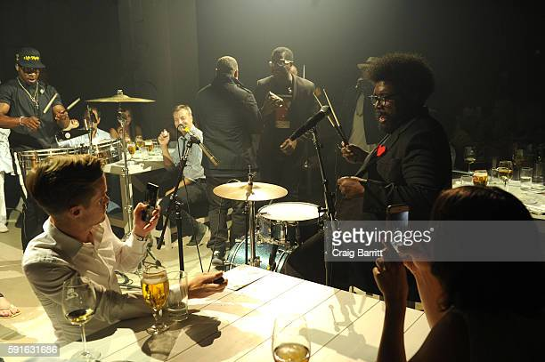 The Roots perform Bittersweet an original song you can taste at Le Savoir a theatrical dinner experience hosted by Stella Artois on August 17 2016 in...