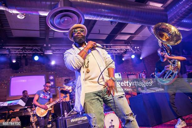The Roots take the stage at 800 Congress Ave during the Bud Light x The Roots Friends Jam Session Bud Light Americas most popular and inclusive beer...