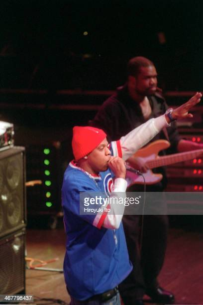 The Roots with special guests performing at Avery Fisher Hall on Thursday night January 17 2002This imageJay Z left with Hub