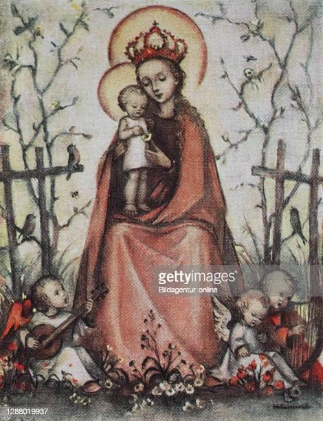 The Rosary, Rosary Madonna, Blessed Virgin of the Rosary, Festum Beatae Mariae Virginis a Rosario / Die Rosenkranzkönigin, Rosenkranzmadonna,...