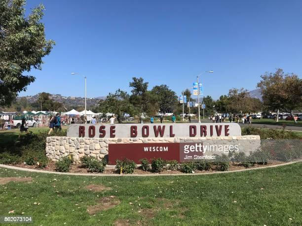 The Rose Bowl flea market in Pasadena, California on October 8, 2017.