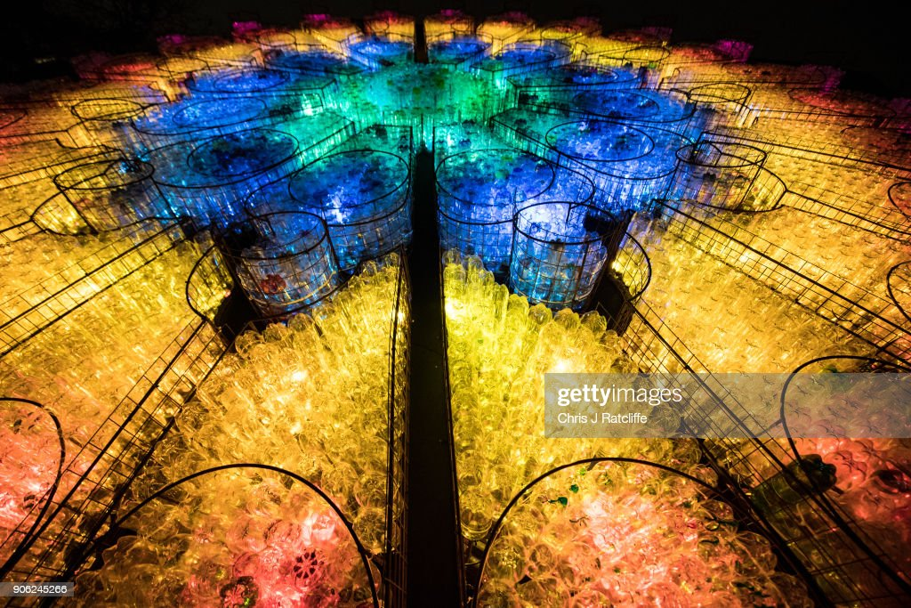 First Look At London's Lumiere Light Show