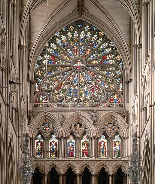 Rose Window In Westminster Abbey