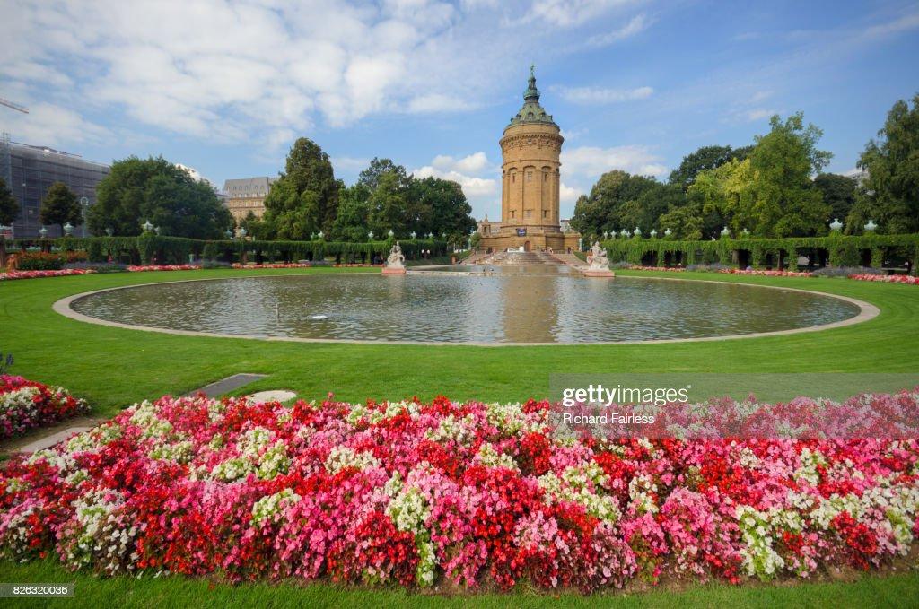 The Rosengarten in Mannheim : Stockfoto