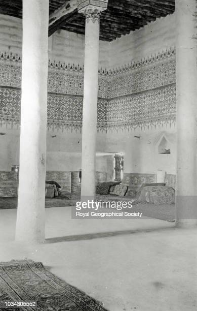 The Rosham in the Guest House at Hayil Saudi Arabia circa 1934