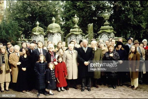 The Rothschild Family in the Frankfurt Jewish cimetery