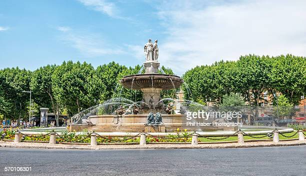 The rotonde fountain, Aix-en-Provence