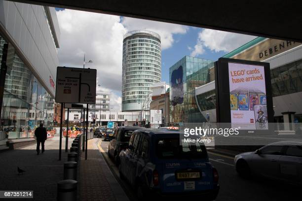 The Rotunda in Birmingham United Kingdom The Rotunda is Birmingham's most iconic building a cylindrical high rise building which is Grade II listed...