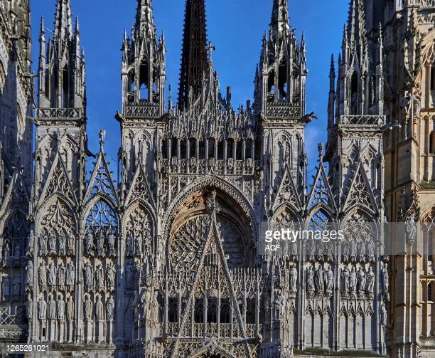 The Rouen Cathedral – known as Notre-Dame de l'Assomption de Rouen is a Roman Catholic church. The magnificent Gothic cathedral of Rouen has the...
