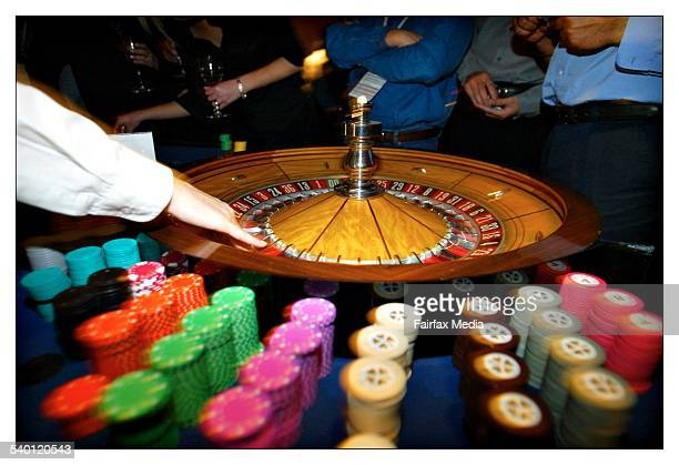 The roulette wheel 25 May 2004 AFR Picture by PHIL CARRICK