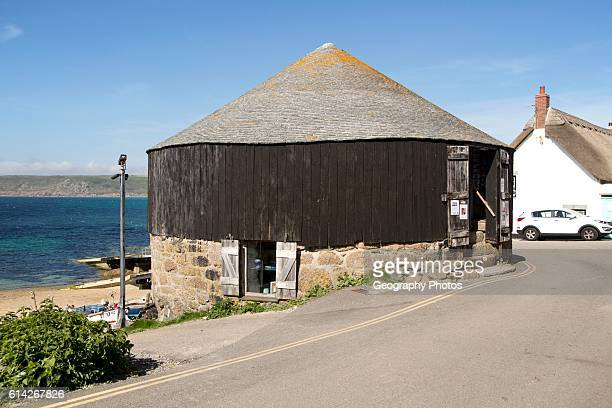The Round House and Capstan gallery Sennen Cove Cornwall England UK