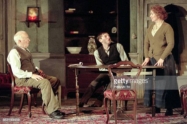 "The Roundabout Theater Company presents ''Juno and the Paycock"" at the Gramercy Theater on September 20, 2000.This image:From left, Jim Norton, Jason..."