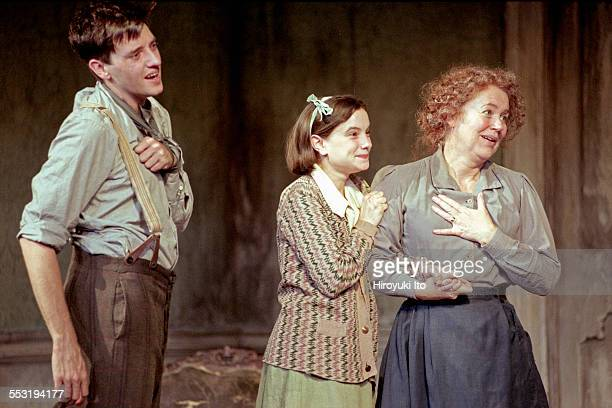 "The Roundabout Theater Company presents ''Juno and the Paycock"" at the Gramercy Theater on September 20, 2000.This image:From left, Jason Butler..."