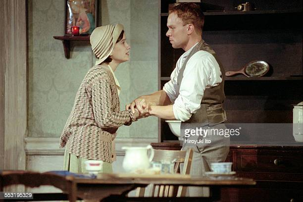 The Roundabout Theater Company presents ''Juno and the Paycock at the Gramercy Theater on September 20 2000This imageGretchen Cleevely left and...