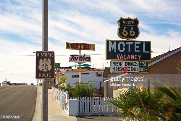 The Route 66 Motel in Barstow California